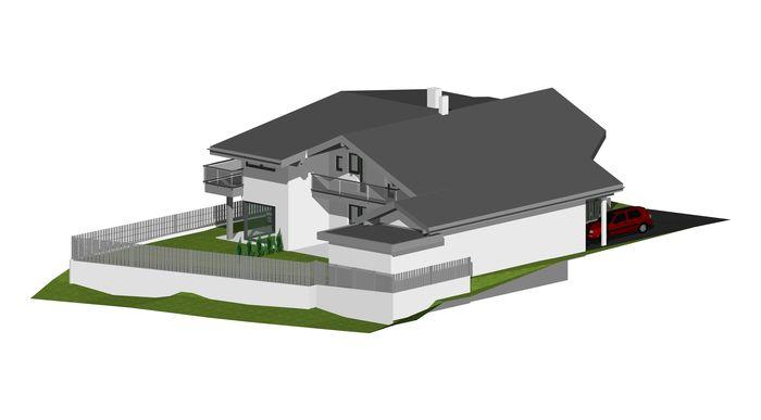 umbau zweifamilienhaus m jenbach gemeinde jenbach an und umbauten. Black Bedroom Furniture Sets. Home Design Ideas